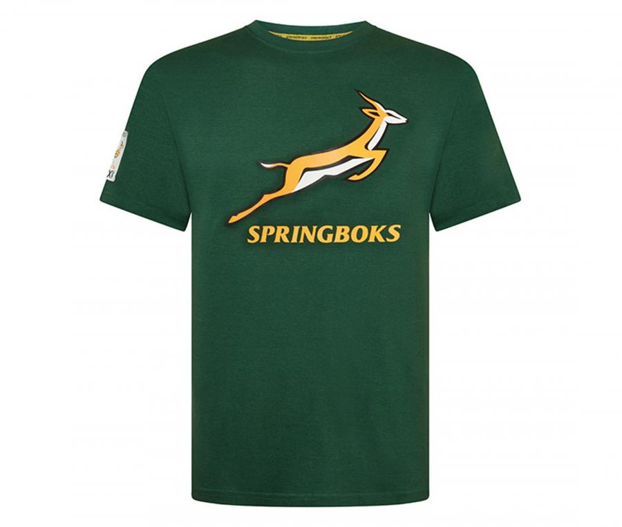 T-shirt Afrique du Sud Springboks Vert