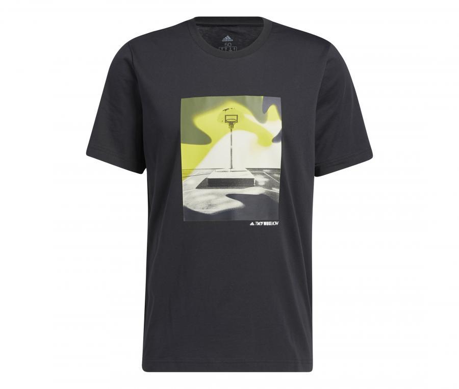 T-shirt adidas Slept On Noir