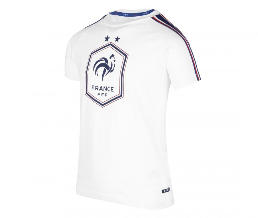 T-shirt France Big Logo Blanc Junior
