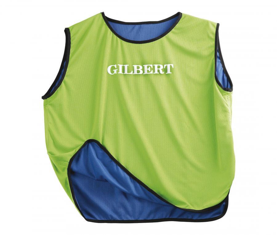 Chasuble réversible Gilbert Vert/Bleu