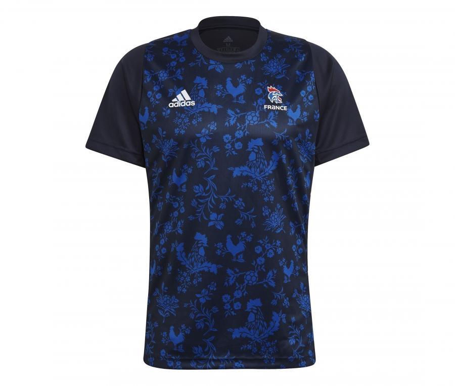 T-shirt Handball France FFHB Bleu