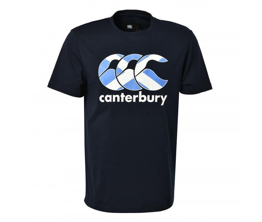 T-shirt Canterbury Ecosse Team Bleu