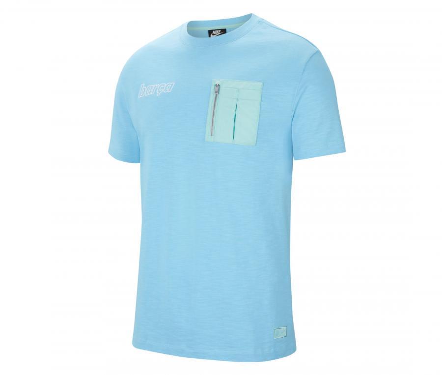 T-shirt Barça Bleu