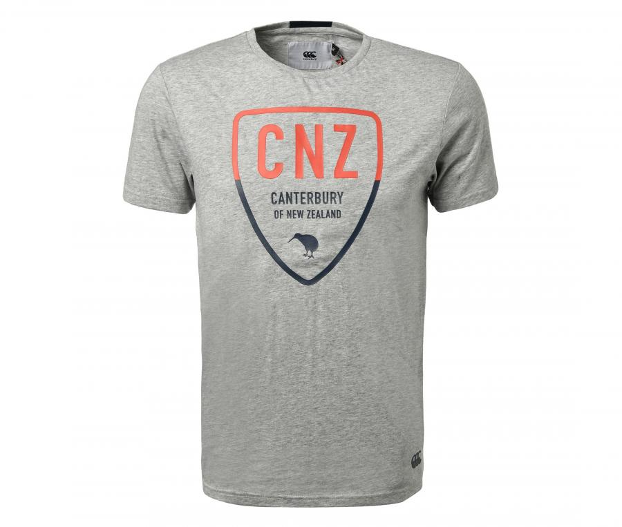 T-shirt Canterbury Casual Purua Gris