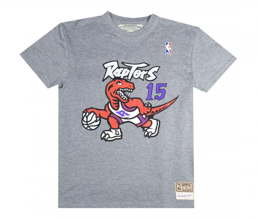 T-shirt Raptors de Toronto Gris
