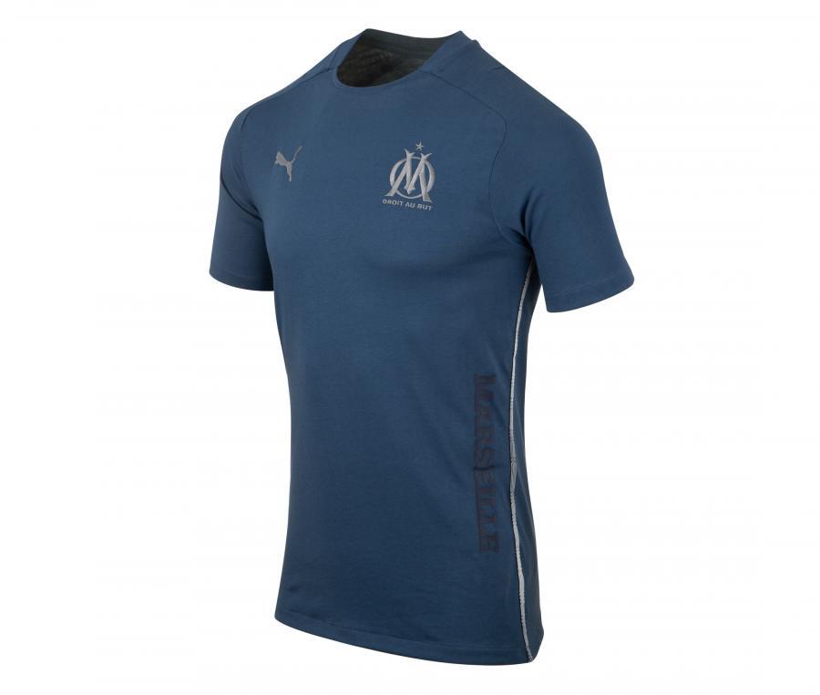 OM Casuals Tee-shirt Blue