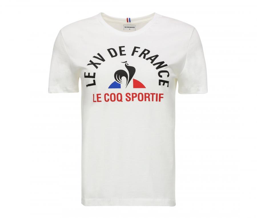 T-shirt France FFR Blanc Femme