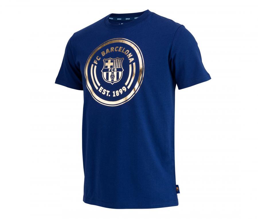 T-shirt Barça Logo Bleu