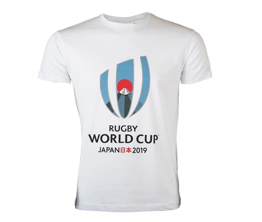T-shirt Coupe du Monde de Rugby 2019 Blanc