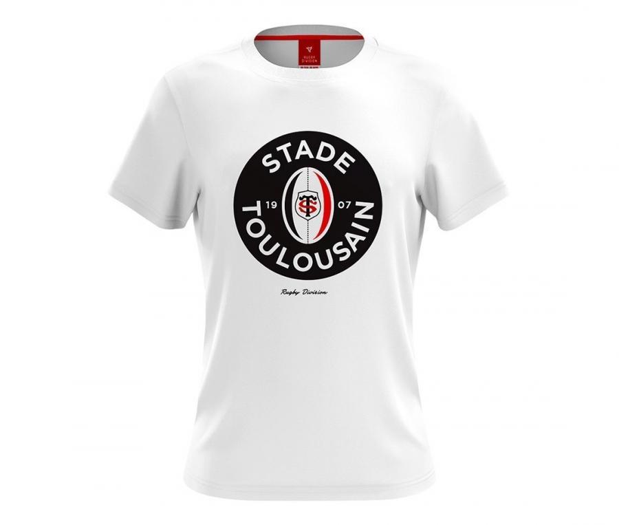 Tee-shirt Stade Toulousain Brie blanc