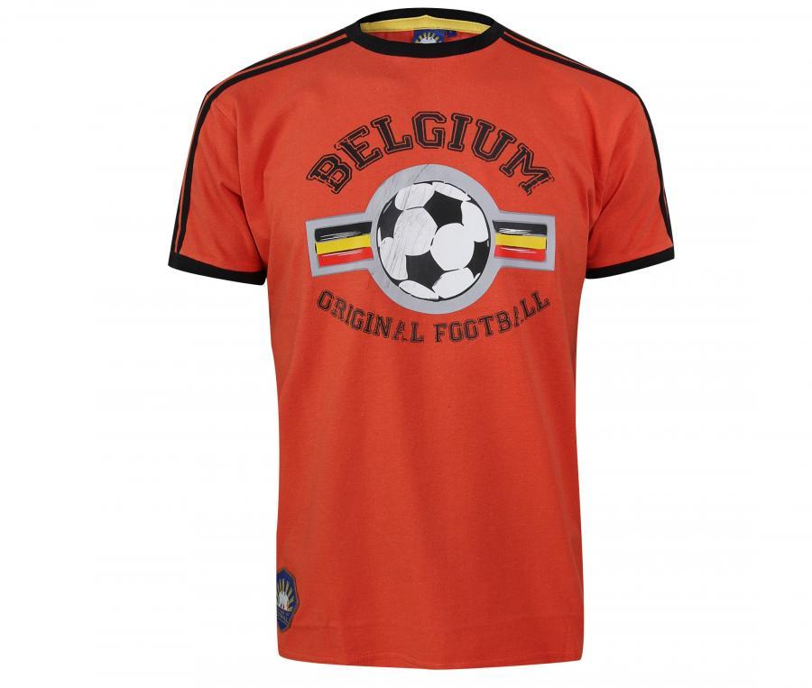 T-Shirt College Belgique Rouge