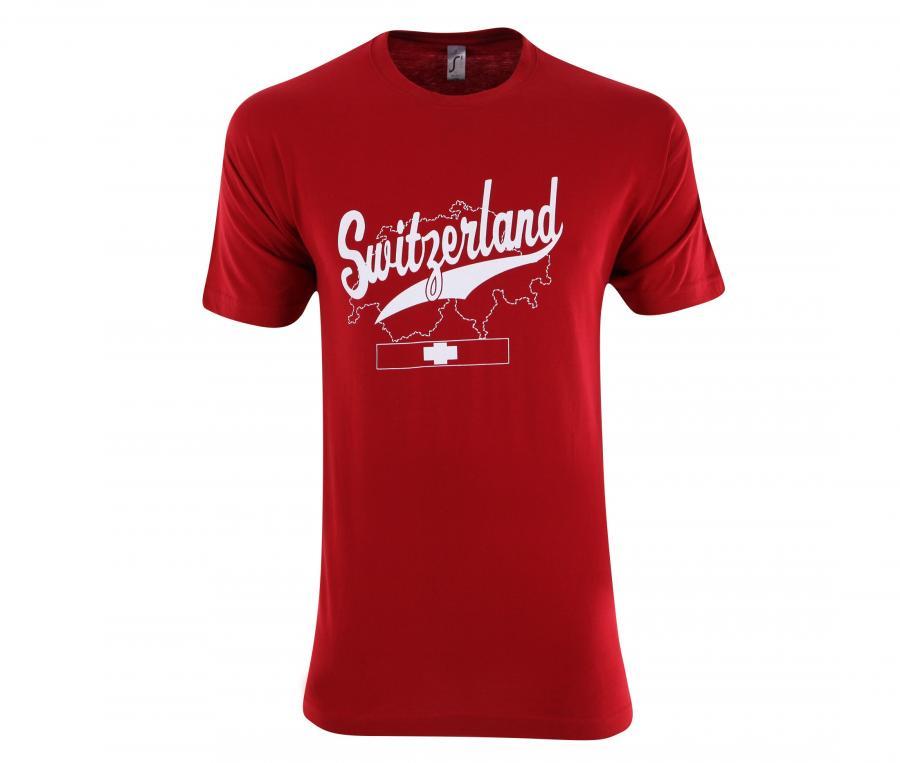T-Shirt Suisse Rouge