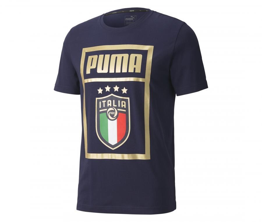 T-shirt Italie DNA Bleu