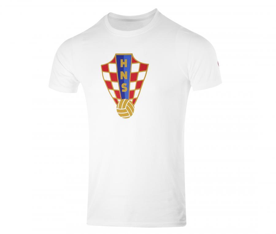 T-shirt Crest Croatie Blanc Junior