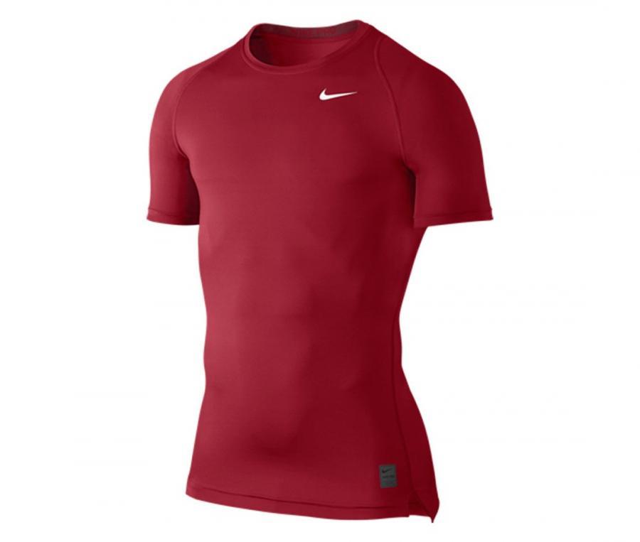 Tee-shirt de compression Nike Pro Cool Rouge