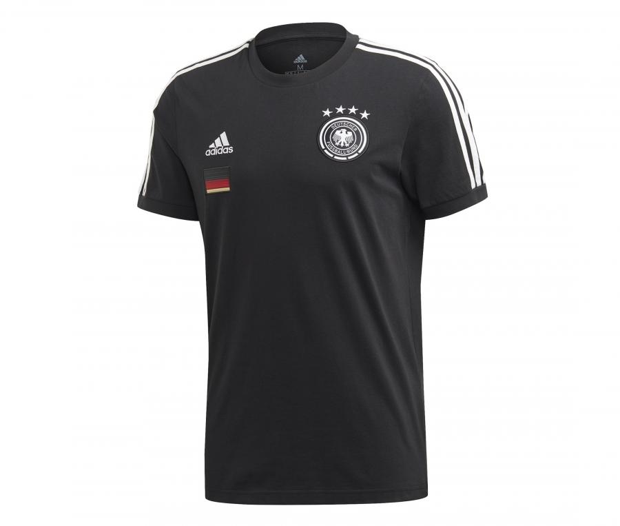 T-shirt Allemagne 3-Stripes Noir