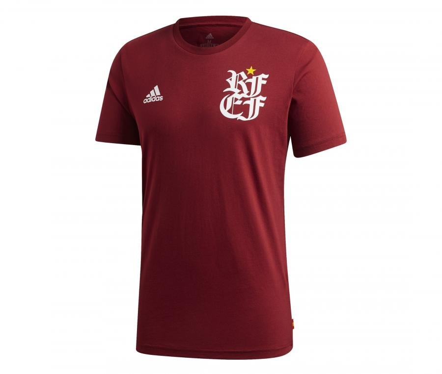 T-shirt Espagne Street Graphic Rouge