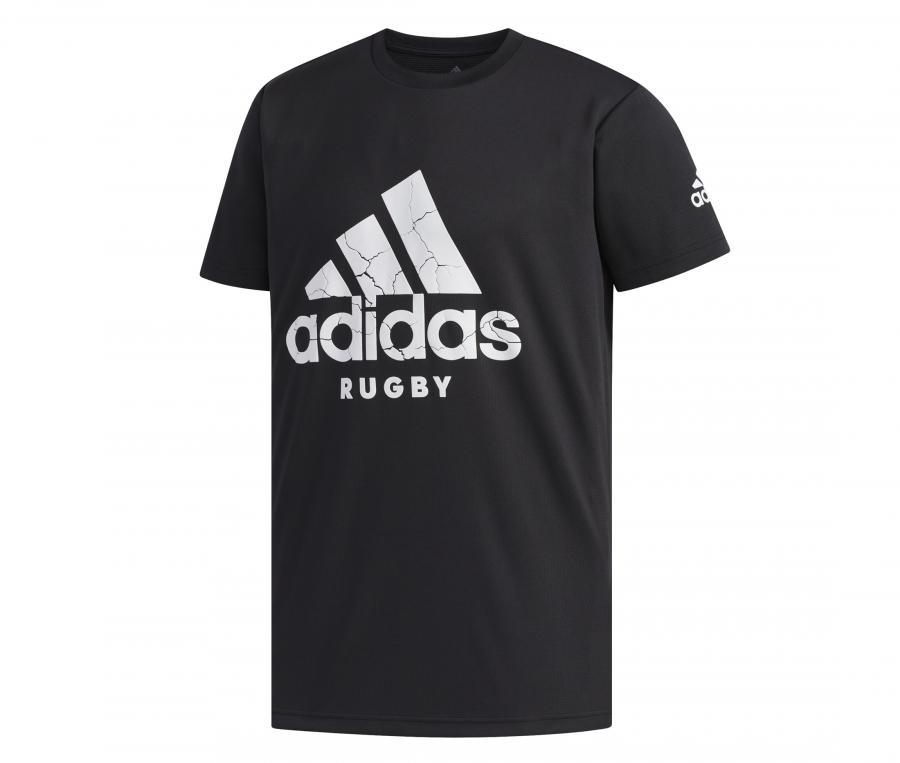 T-shirt adidas Rugby Logo Noir