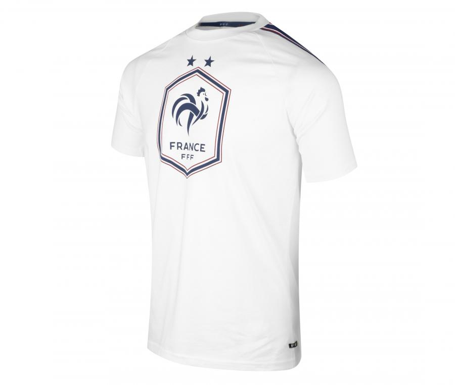 T-shirt France Big Logo Blanc