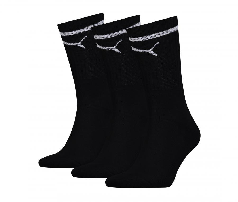 Lot 3 paires de chaussettes Puma OM Sport Noir