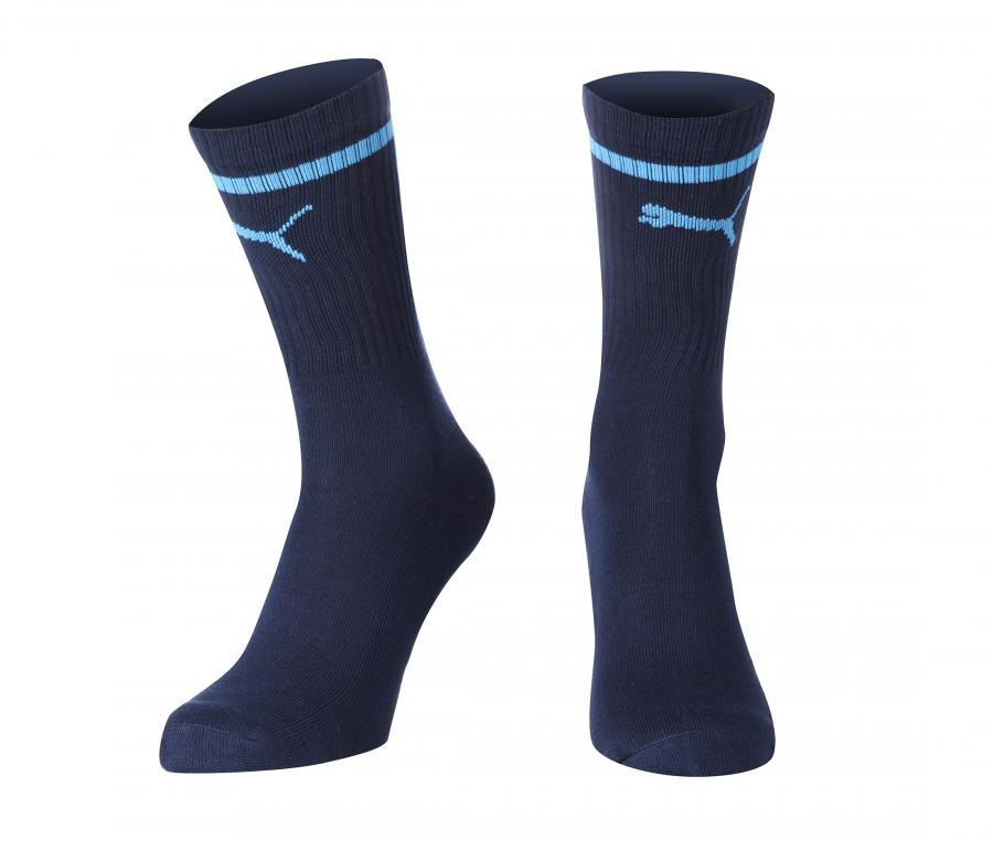 Set of 3 pairs of Blue OM Socks