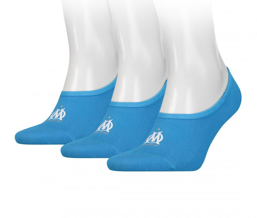 Set of 3 pairs of OM Puma socks Blue