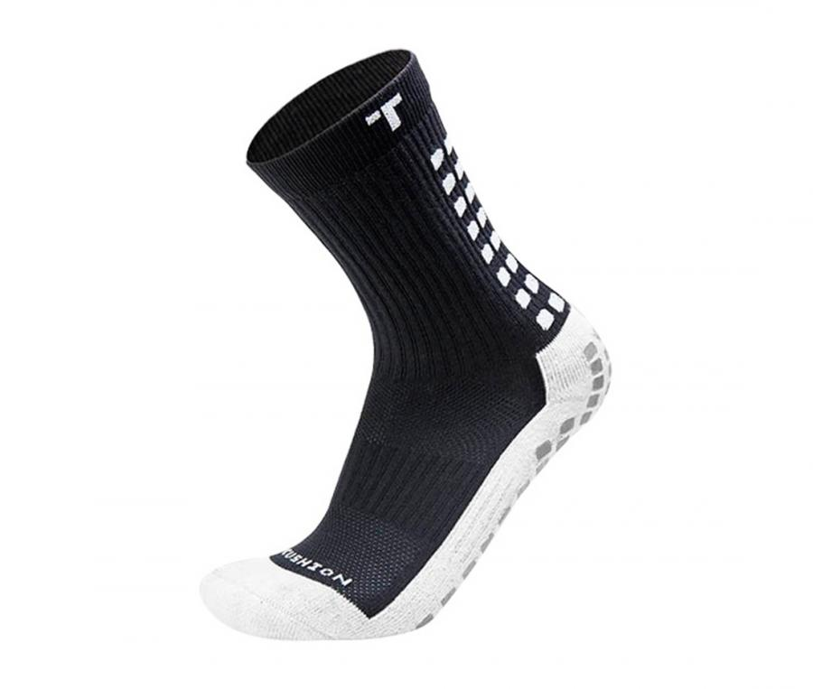 Chaussettes antidérapantes Mid-calf Cushioned noir