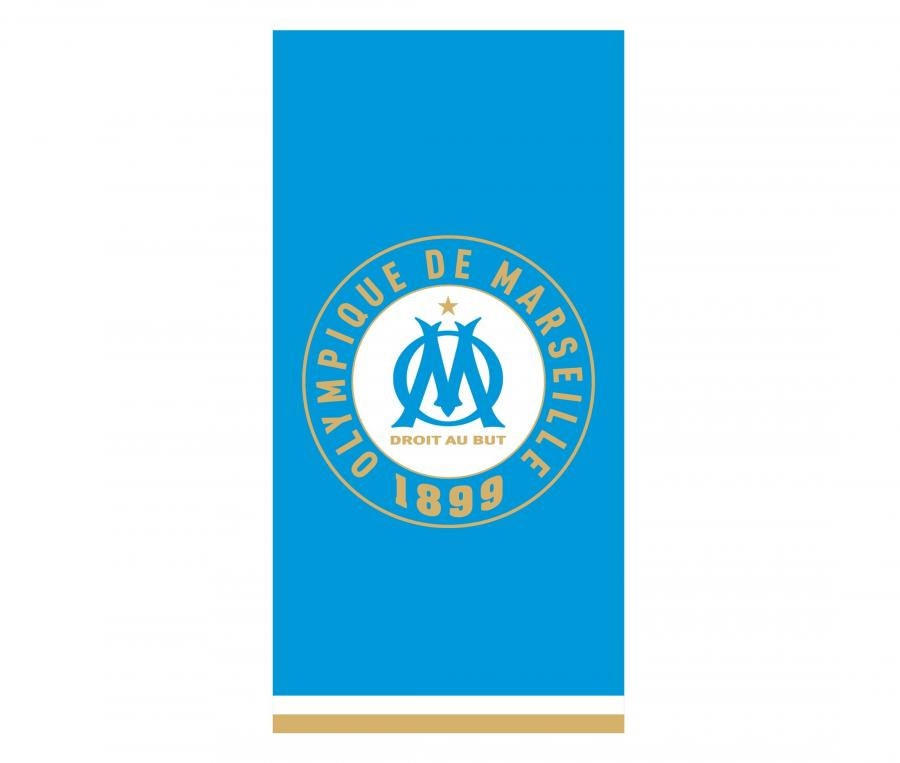 OM Beach Towel Team 75 x 150 cm Blue