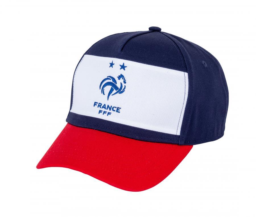 Casquette France Tricolore Bleu/Blanc/Rouge