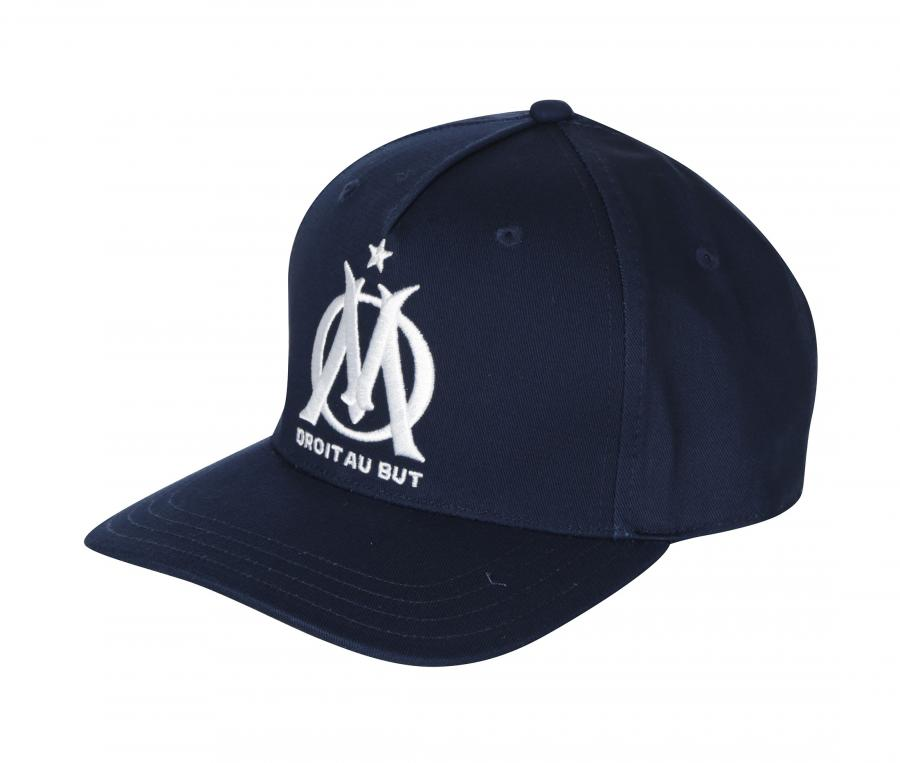 Casquette OM Fan Bleu Junior