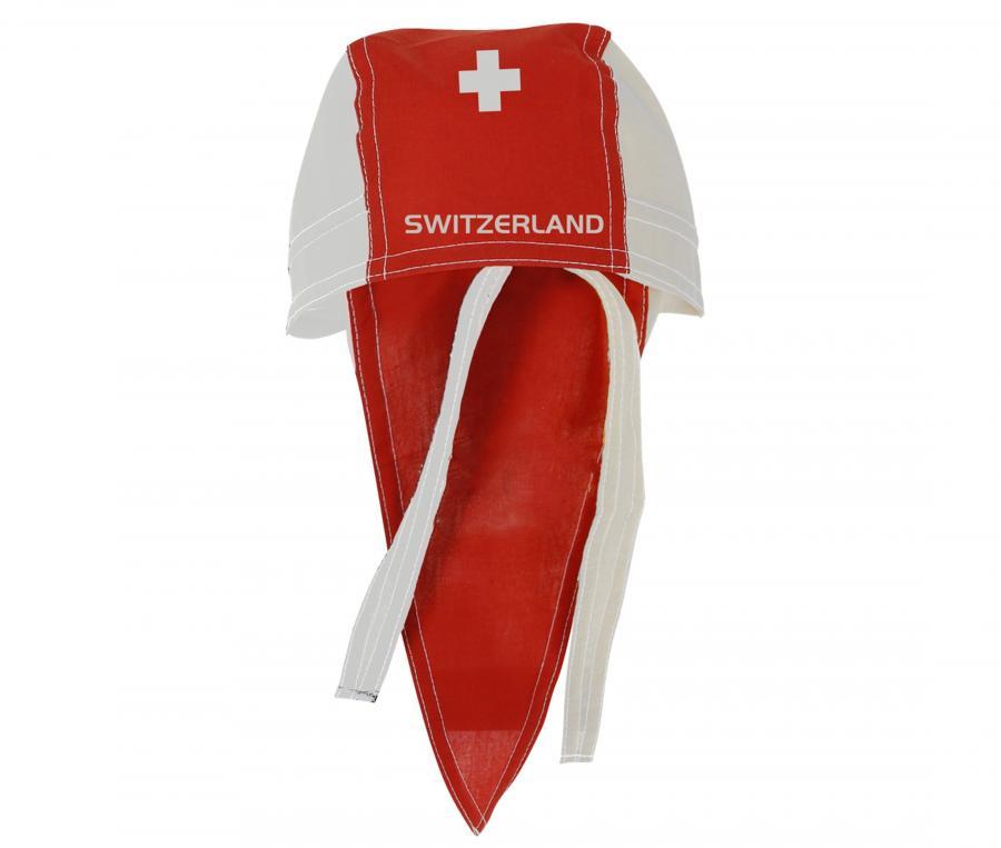 Bandana Suisse Rouge/Blanc