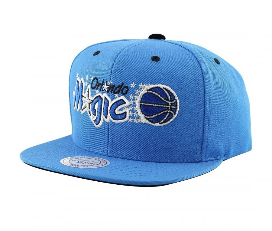 Casquette Mitchell & Ness Magic Orlando Snapback Team Bleu