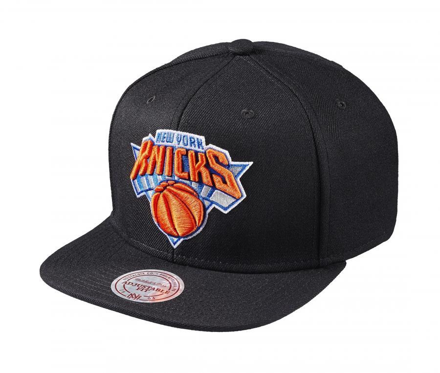 Casquette Mitchell & Ness New York Knicks Snapback Team Noir