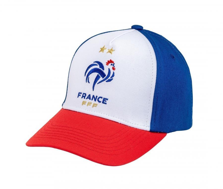 Casquette France Logo Bleu/Blanc/Rouge Junior