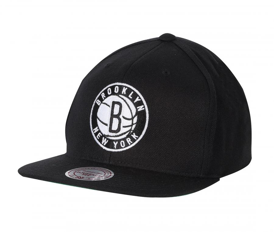 Casquette Mitchell & Ness Nets de Brooklyn Noir