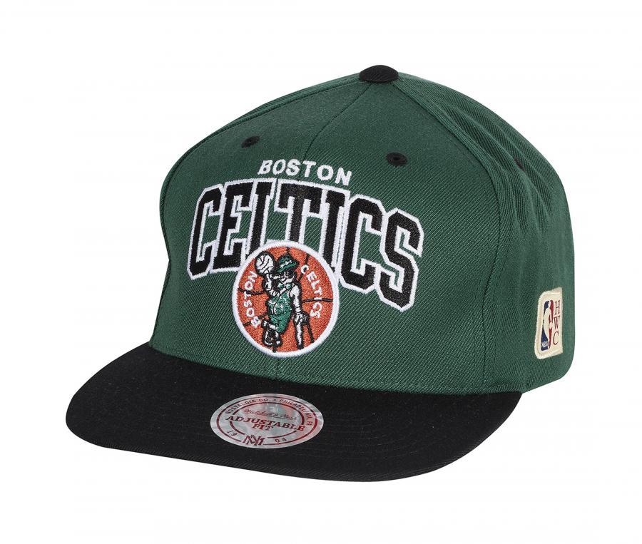 Casquette Mitchell & Ness Celtics de Boston Team Vert