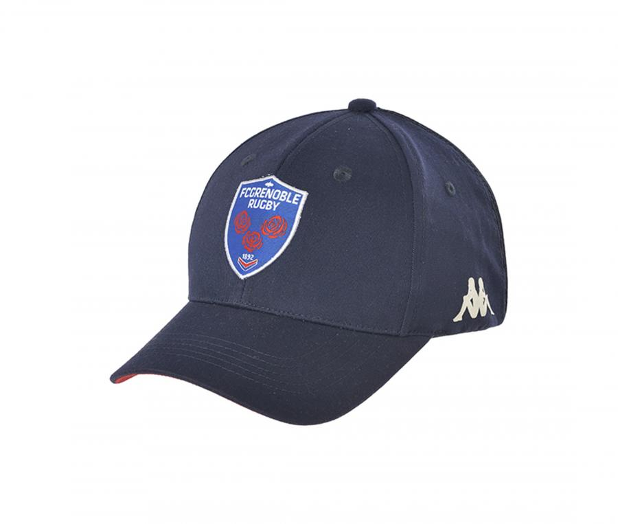 Casquette FC Grenoble Rugby Mincio Bleu