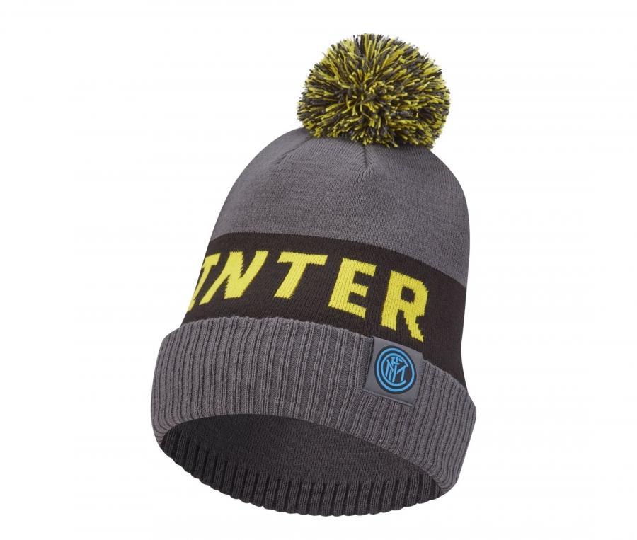 Bonnet Inter Milan Gris