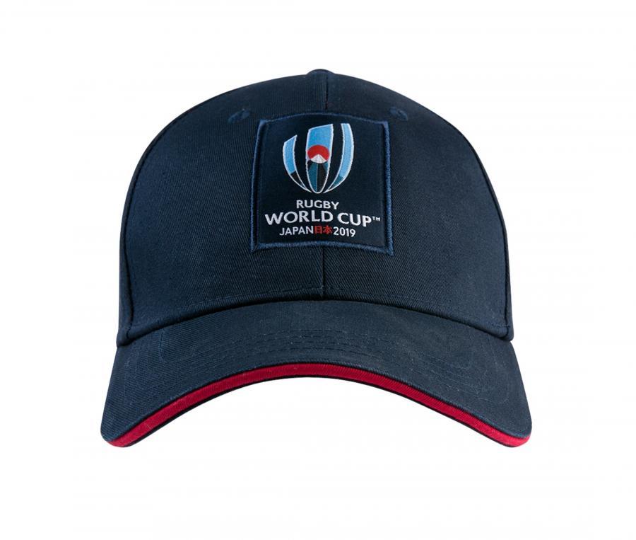 Casquette Coupe du Monde Rugby 2019 Bleu