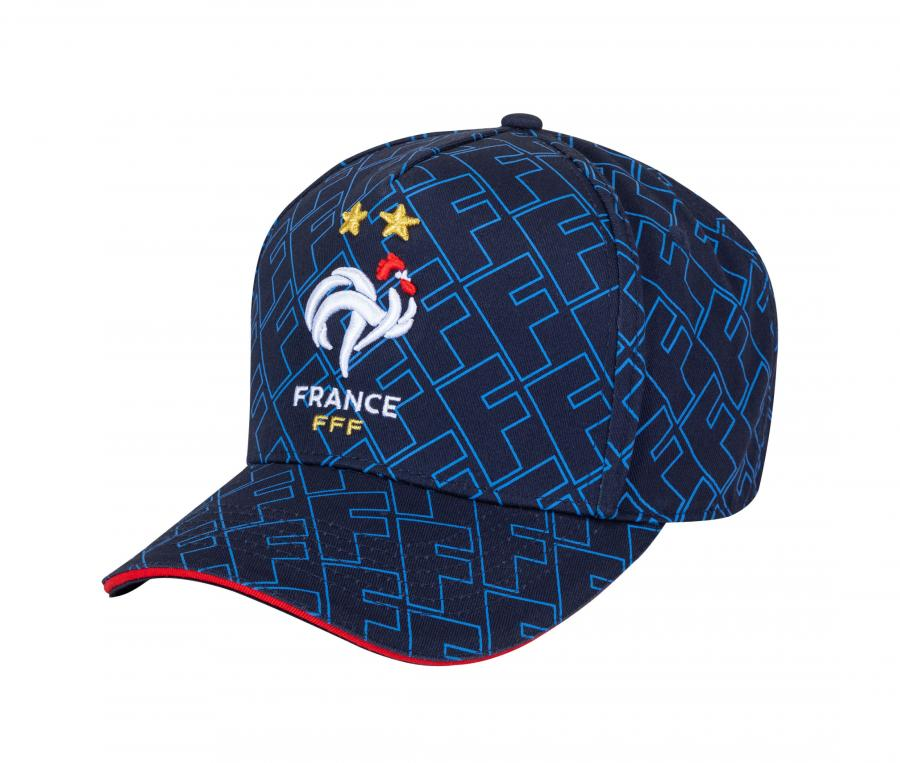 Casquette France All Over Bleu
