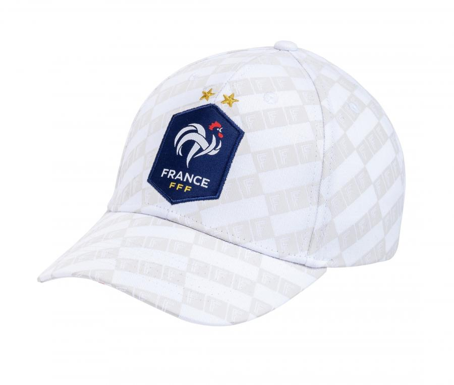 Casquette France All Over Blanc