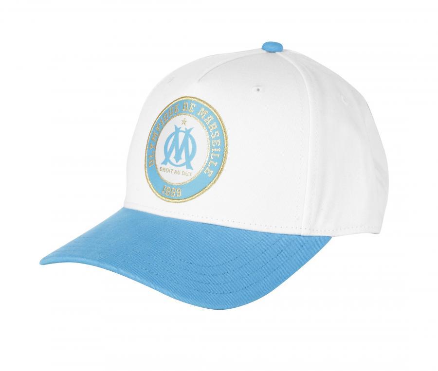 Cap OM Fan White/Blue
