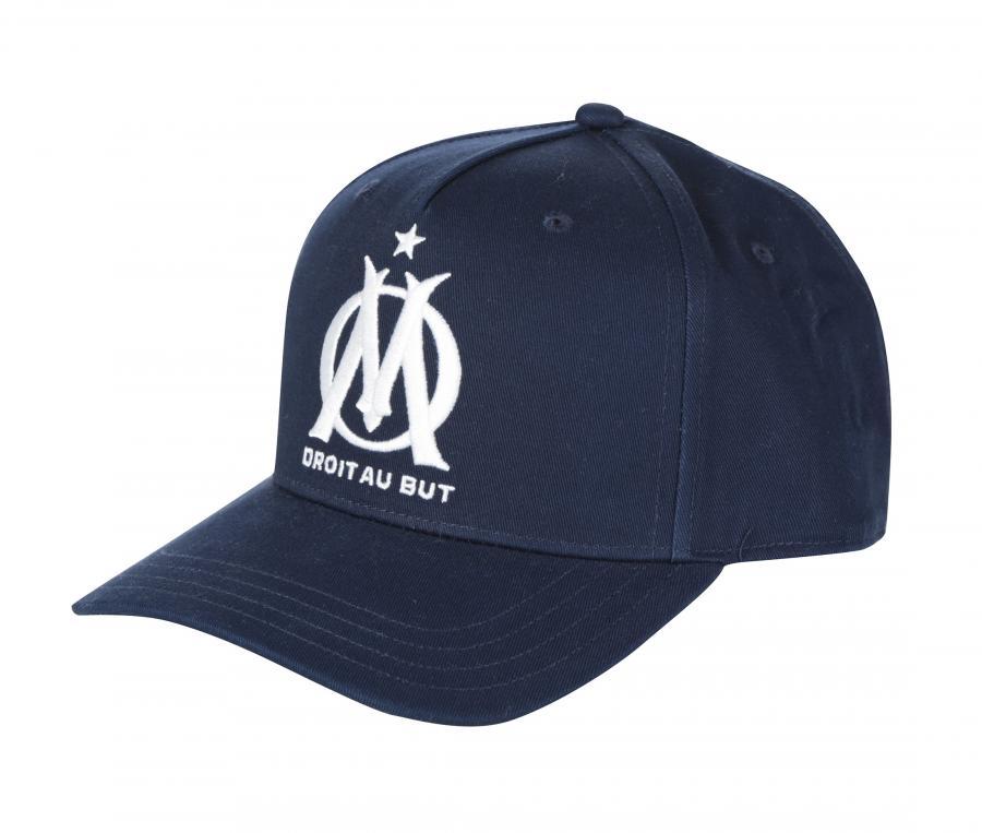 Casquette OM Logo Fan Bleu