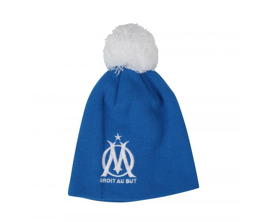 Bonnet OM Pompon Bleu