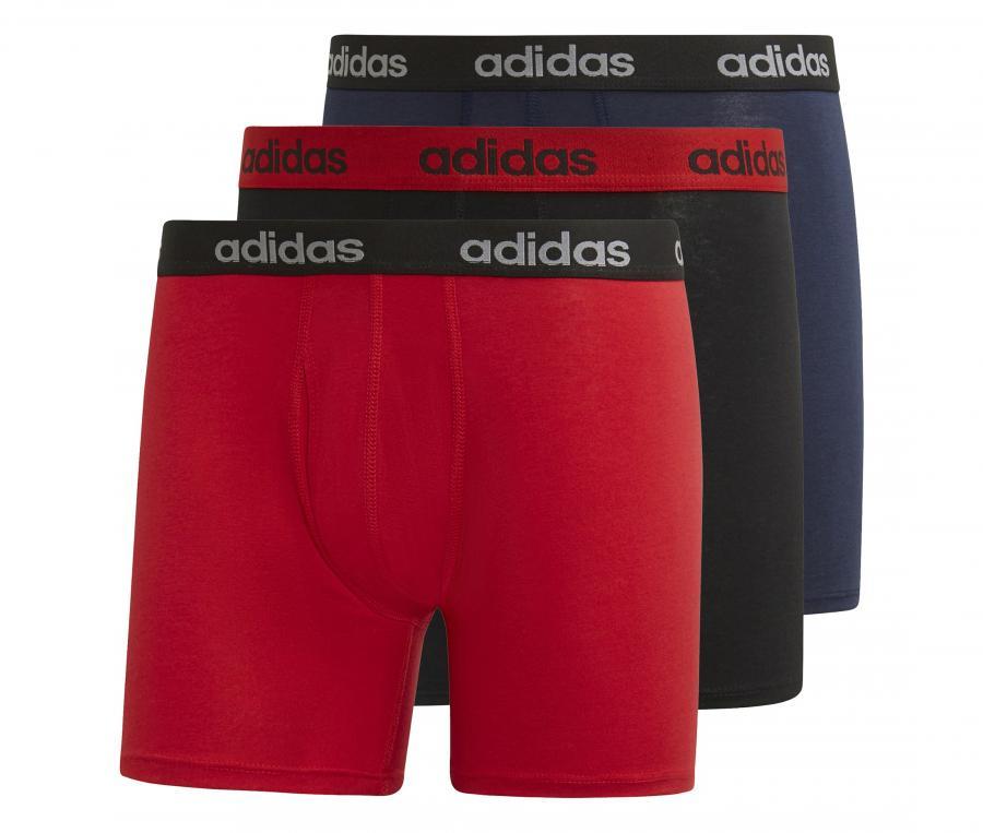 Lot 3 Boxers adidas Noir
