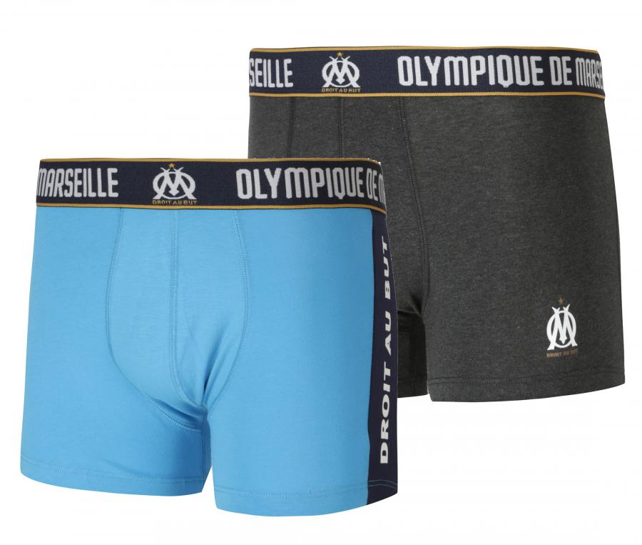 Set of 2 Boxers OM Blue/Grey