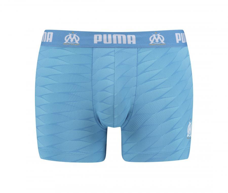 Calzoncillo tipo boxer Puma OM Velodrome Azul