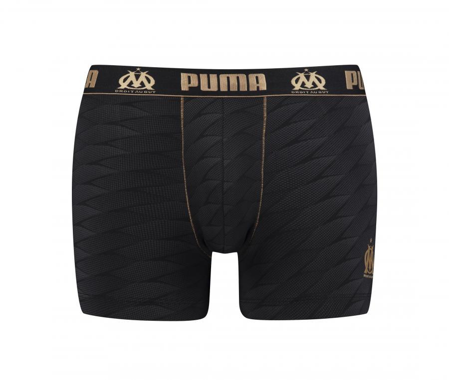 Calzoncillo tipo boxer Puma OM Vélodrome Negro