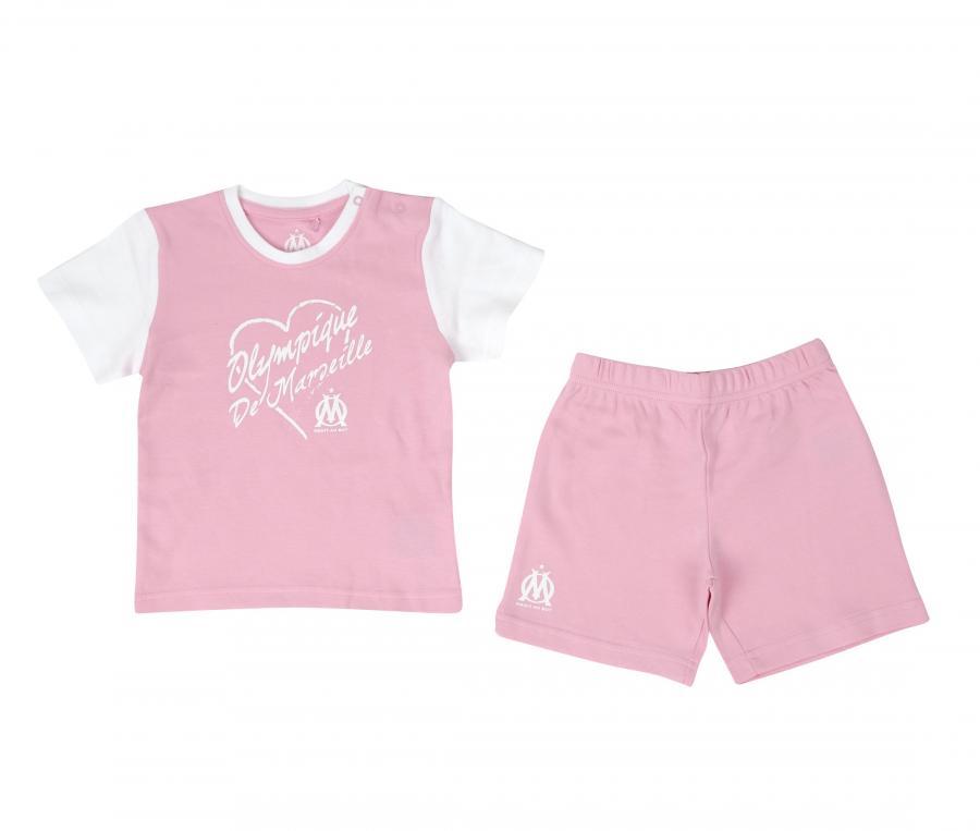 OM Fan Baby's Set Pink