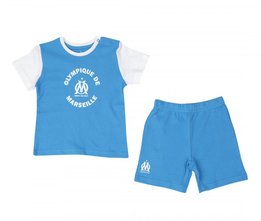 OM Fan Baby's Set Blue